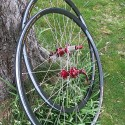 CX 24 mm wide (ISO 622mm) wheelset (QR 9 and 10 mm)