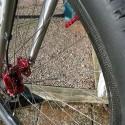 "Unique – no external spoke holes. Hookless 37 mm wide rims 29"" (ISO 622mm) wheelset"